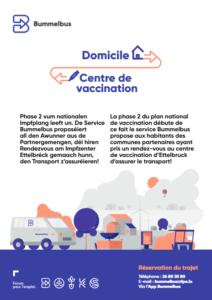 De Bummelbus assuréiert den Transport an den Impfzentrum