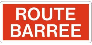 """Avis en matière de circulation - Route barrée du 12 juillet 2021 jusqu'à la fin des travaux (+/- 2 semaines):  """"Waler Strooss"""" à Grevels et la rue """"Kinnikshaff"""" à Wahl"""